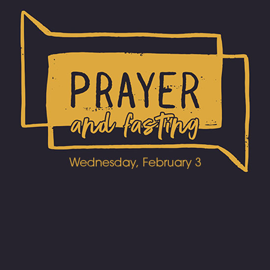 Prayer & Fasting